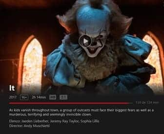It en Netflix HD audio 5.1